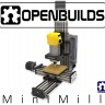 OpenBuilds Mini Mill은 탁상용 크기의 CNC 밀링 플레이트 / 부품 제조사와 3D 조각 기계로 뛰어납니다! MiniMill CBeam CNC